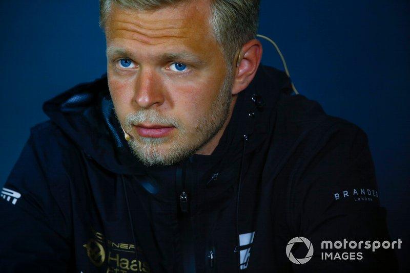 Kevin Magnussen, Haas F1 en conférence de presse