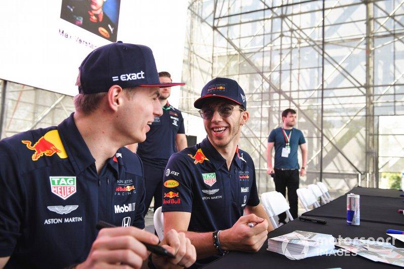 Pierre Gasly végre legyőzte az időmérőn csapattársát, Max Verstappent.