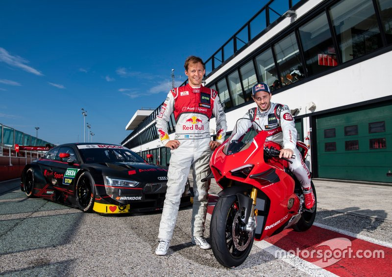 Andrea Dovizioso, Audi RS 5 Turbo DTM, mit Mattias Ekström