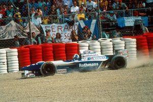 Ausritt: David Coulthard, Williams FW17