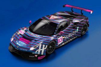 Kessel Racing renk düzeni