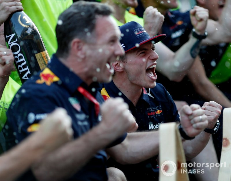 Christian Horner, Max Verstappen, Red Bull Racing