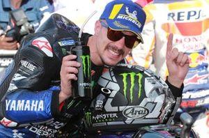 Le vainqueur Maverick Vinales, Yamaha Factory Racing