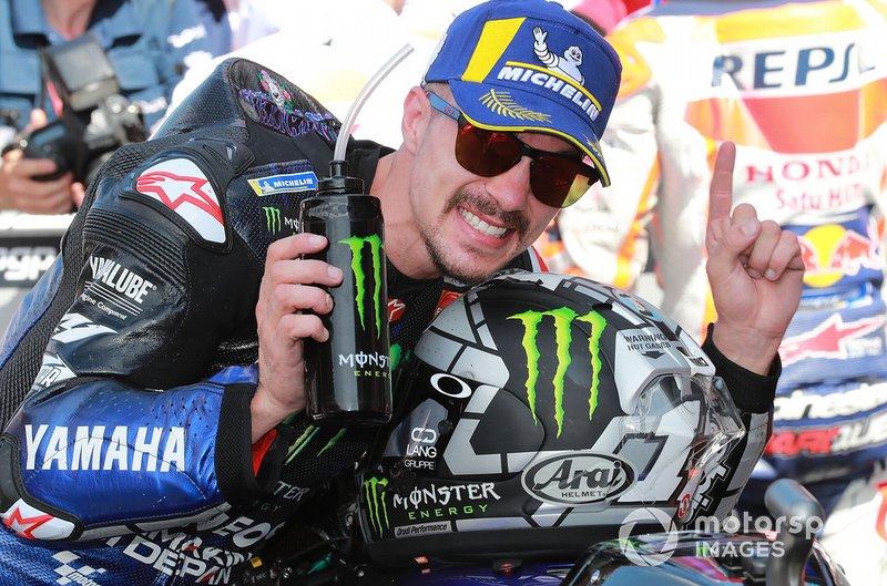 Ganador de la carrera Maverick Vinales, Yamaha Factory Racing