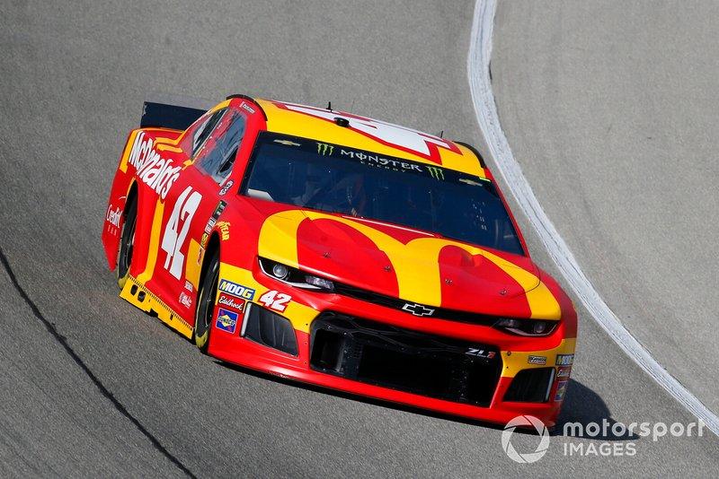 2. Kyle Larson, Chip Ganassi Racing, Chevrolet Camaro