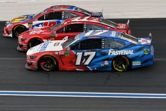 Ricky Stenhouse Jr., Roush Fenway Racing, Ford Mustang Fastenal,Daniel Suarez, Stewart-Haas Racing, Ford Mustang Coca-Cola,Martin Truex Jr., Joe Gibbs Racing, Toyota Camry Bass Pro Shops / TRACKER ATVs & Boats / USO