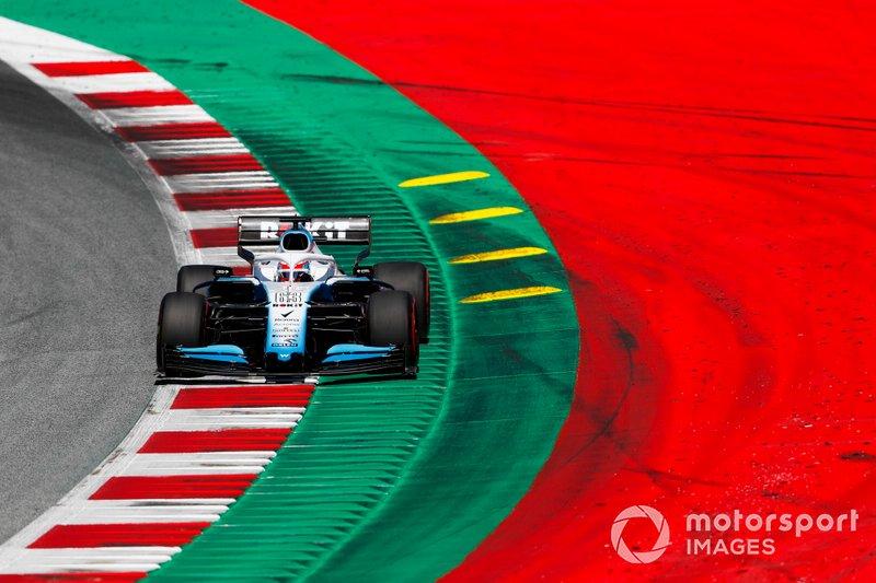 18: George Russell, Williams Racing FW42, 1'05.904 (punido em três posições no grid)