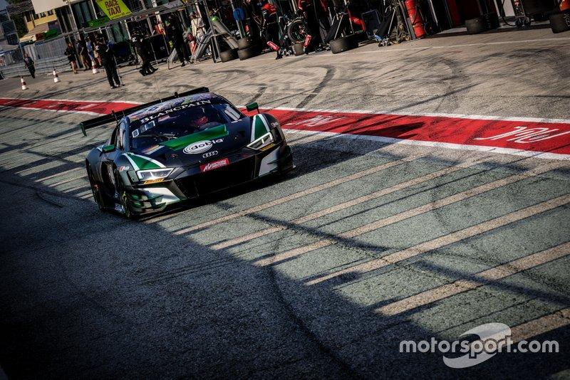 #56 Attempto Racing Audi R8 LMS GT3: Milan Dontje, Mattia Drudi