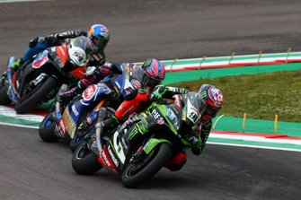 Leon Haslam, Kawasaki Racing Team, Alex Lowes, Pata Yamaha, Toprak Razgatlioglu, Turkish Puccetti Racing