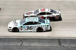 Matt Tifft, Front Row Motorsports, Ford Mustang Surface Sunscreen / Tunity, Kevin Harvick, Stewart-Haas Racing, Ford Mustang Jimmy John's