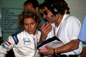 Giovanna Amati avec son ingénieur