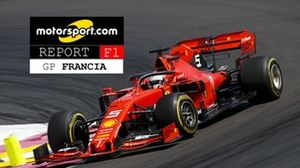 Copertina report GPFrancia F1