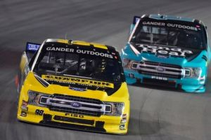 Grant Enfinger, ThorSport Racing, Ford F-150 Champion Power Equipment and Myatt Snider, ThorSport Racing, Ford F-150 Tenda Heal