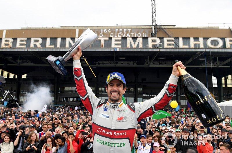 Ganador: Lucas Di Grassi, Audi Sport ABT Schaeffler