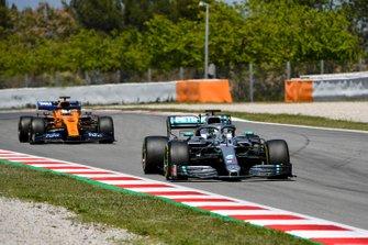 Nikita Mazepin, private tester, Mercedes AMG F1 and Sergio Sette Camara, McLaren MCL34
