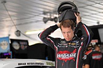 Brad Keselowski, Team Penske, Ford Mustang Wabash National