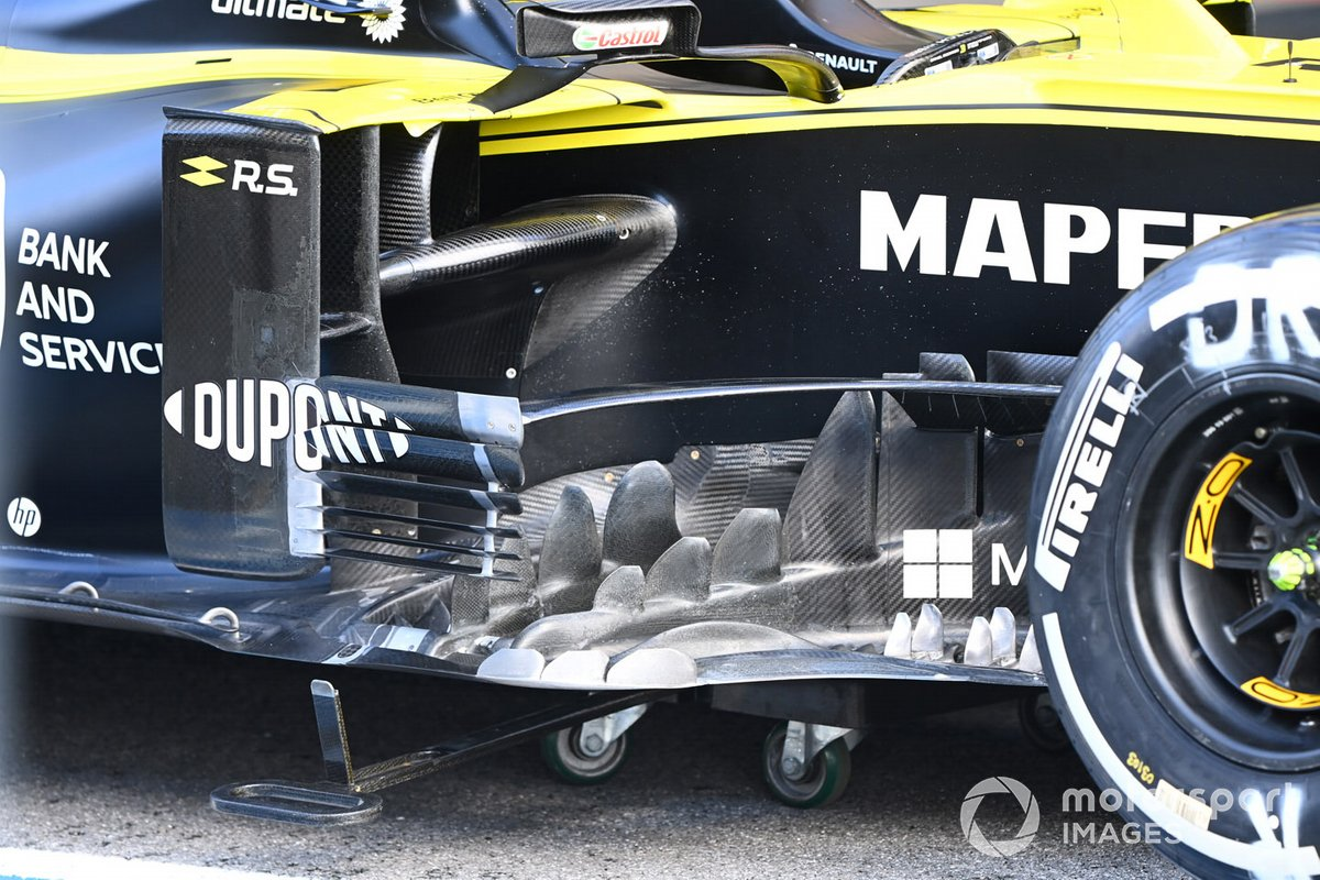 Renault technical detail