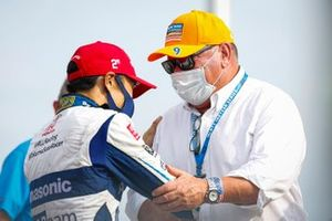 Takuma Sato, Rahal Letterman Lanigan Racing Honda and Chip Ganassi