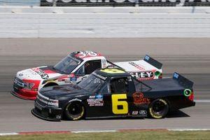 Norm Benning, Norm Benning Racing Chevrolet Silverado H & H Transport, Todd Gilliland, Front Row Motorsports, Ford F-150 Crosley Brands