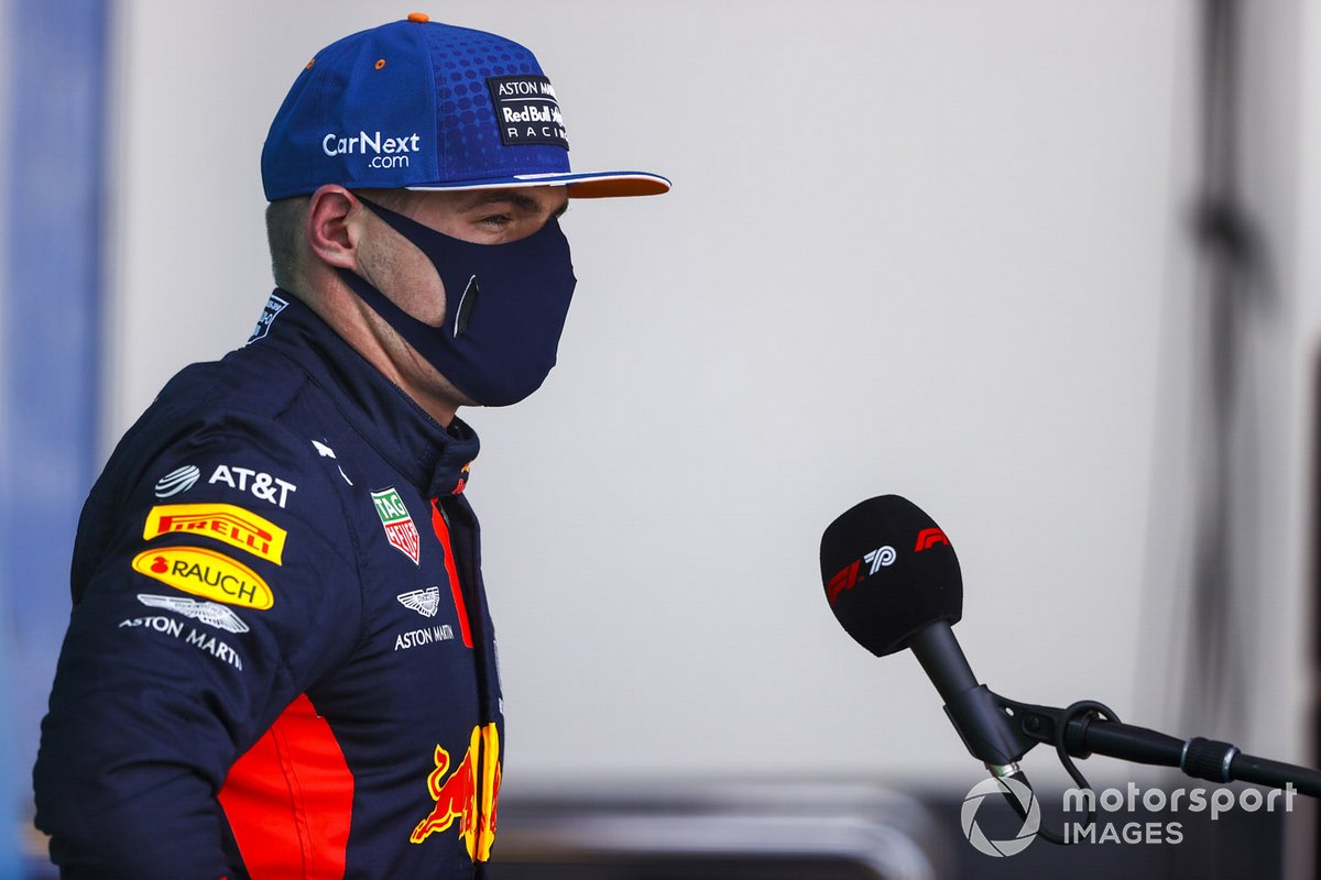 Terzo posto Max Verstappen, Red Bull Racing