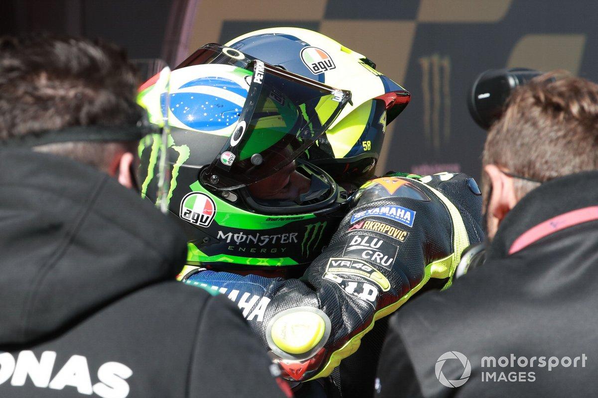 Franco Morbidelli, Petronas Yamaha SRT , Valentino Rossi, Yamaha Factory Racing