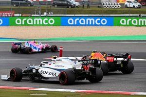 Alex Albon, Red Bull Racing RB16, Nicholas Latifi, Williams FW43