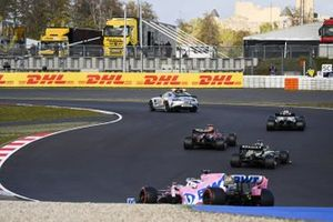 Safety Car Lewis Hamilton, Mercedes F1 W11, Max Verstappen, Red Bull Racing RB16, Daniel Ricciardo, Renault F1 Team R.S.20