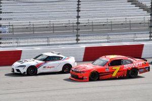 Justin Allgaier, JR Motorsports, Chevrolet Camaro BRANDT Toyota Pace Car