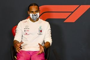 Lewis Hamilton, Mercedes-AMG F1, in a Press Conference