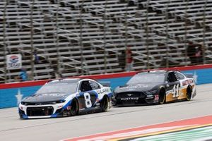 Tyler Reddick, Richard Childress Racing, Chevrolet Clark Pipeline Services Cole Custer, Stewart-Haas Racing, Ford Mustang Autodesk/HaasTooling.com