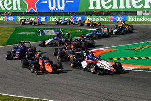 Roman Stanek, Charouz Racing System, Bent Viscaal, MP Motorsport, Jack Doohan, HWA Racelab et Clement Novalak, Carlin