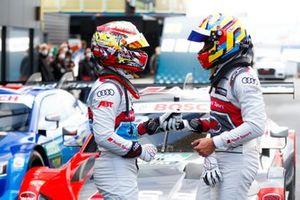 Robin Frijns, Audi Sport Team Abt Sportsline, Loic Duval, Audi Sport Team Phoenix