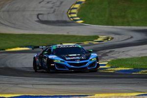 #57 Heinricher Racing w/MSR Curb-Agajanian Acura NSX GT3, GTD: Alvaro Parente, Misha Goikhberg, Trent Hindman