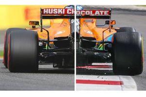 McLaren MCL35 achterkant