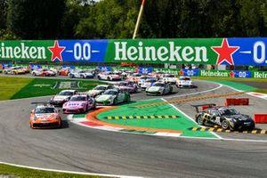 Start des Porsche-Supercup 2020 in Monza