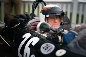 Sir Jackie Stewart nell'abitacolo