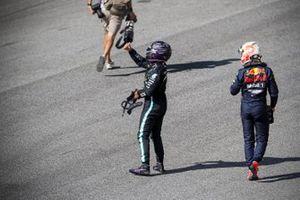 Lewis Hamilton, Mercedes-AMG F1, Max Verstappen, Red Bull Racing