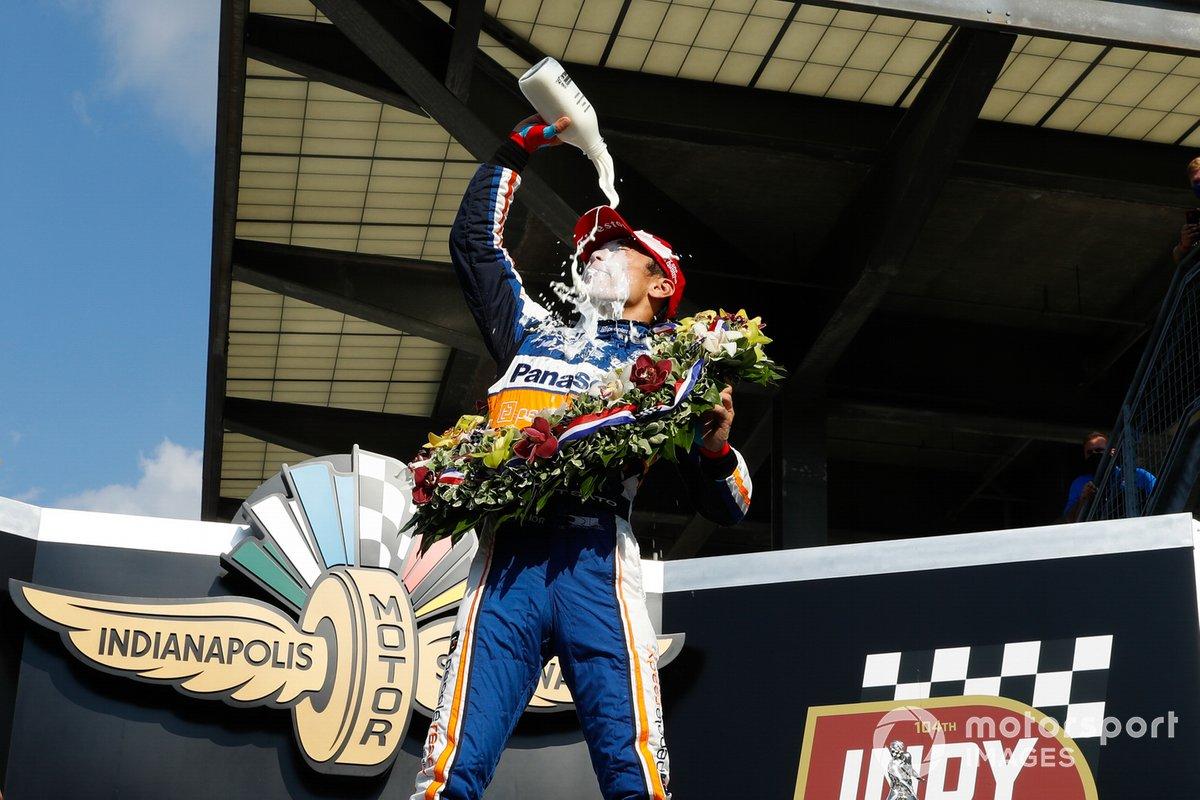Ganador Indy 500: Takuma Sato, Rahal Letterman Lanigan Racing Honda