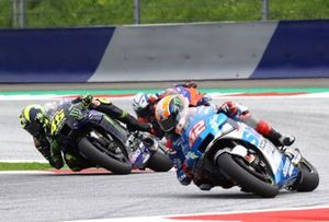 Valentino Rossi, Yamaha Factory Racing Alex Rins, Team Suzuki MotoGP