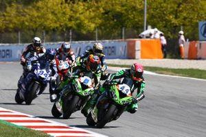 Lucas Mahias, Kawasaki Puccetti Racing, Philipp Öttl, Kawasaki Puccetti Racing