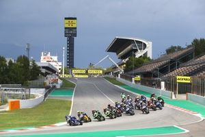 Race start, Corentin Perolari, GMT94 Yamaha leads