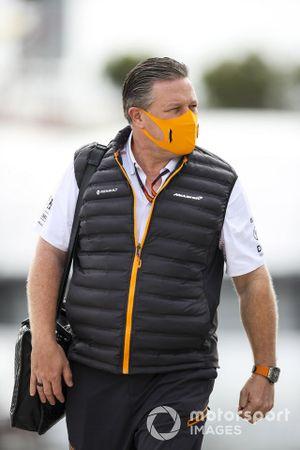 Zak Brown, Director Ejecutivo, McLaren