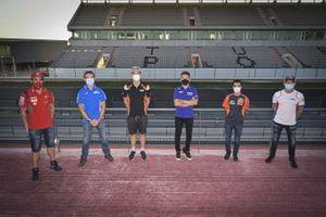 Michele Pirro, Ducati Team, Sylvain Guintoli, Team Suzuki MotoGP, Lorenzo Savadori, Aprilia Racing Team Gresini, Jorge Lorenzo, Yamaha Factory Racing, Dani Pedrosa, Red Bull KTM Factory Racing, Stefan Bradl, Repsol Honda Team