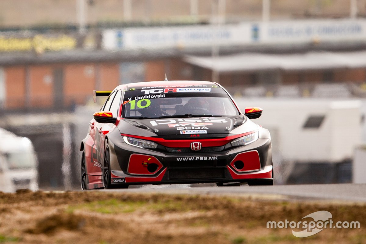 Viktor Davidovski, PSS Racing, Honda Civic Type R TCR