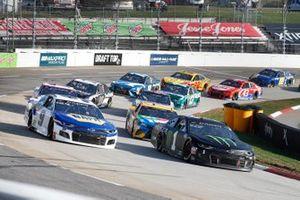 Kurt Busch, Chip Ganassi Racing, Chevrolet Camaro Monster Energy Chase Elliott, Hendrick Motorsports, Chevrolet Camaro NAPA Auto Parts