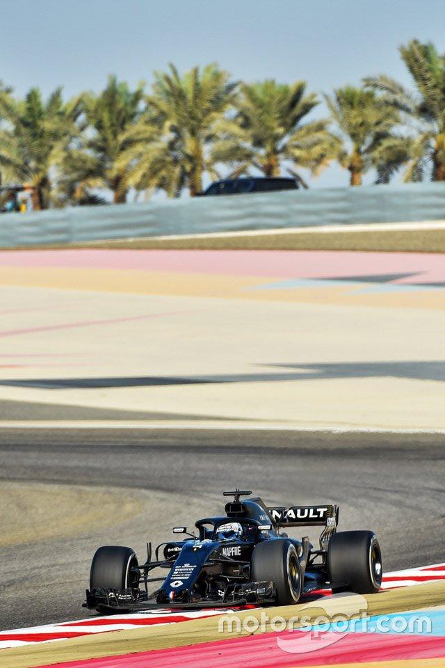 Fernando Alonso, Renault F1 Team R.S.18