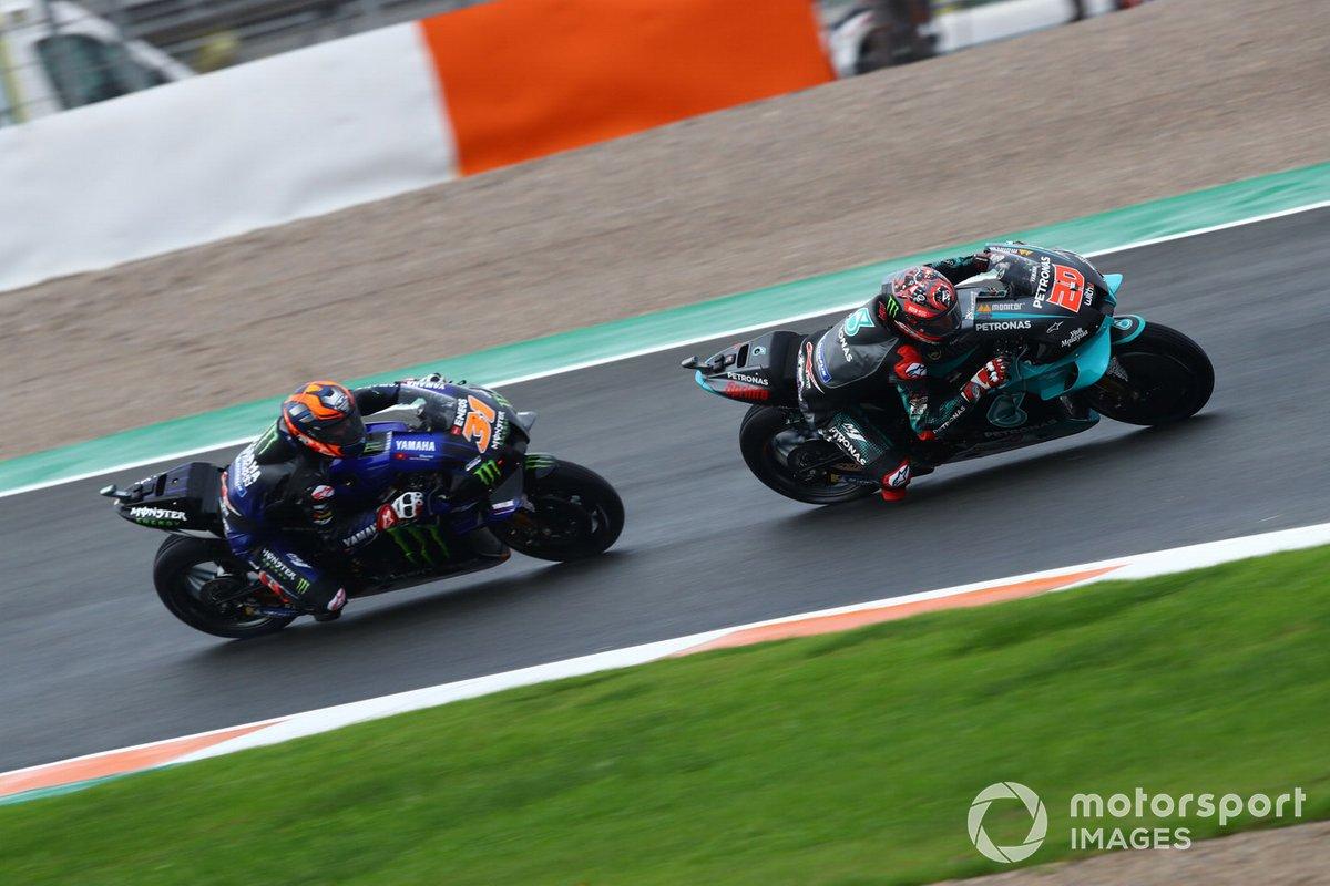 Fabio Quartararo, Petronas Yamaha SRT Garrett Gerloff, Yamaha Factory Racing