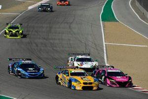 #86 Meyer Shank Racing w/Curb-Agajanian Acura NSX GT3, GTD: Mario Farnbacher, Matt McMurry, #96 Turner Motorsport BMW M6 GT3, GTD: Robby Foley III, Bill Auberlen