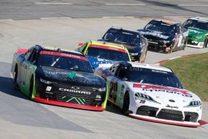 Ross Chastain, Kaulig Racing, Chevrolet Camaro Nutrien Ag Solutions Harrison Burton, Joe Gibbs Racing, Toyota Supra DEX Imaging
