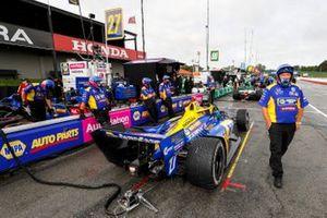 Alexander Rossi, Andretti Autosport Honda, crew